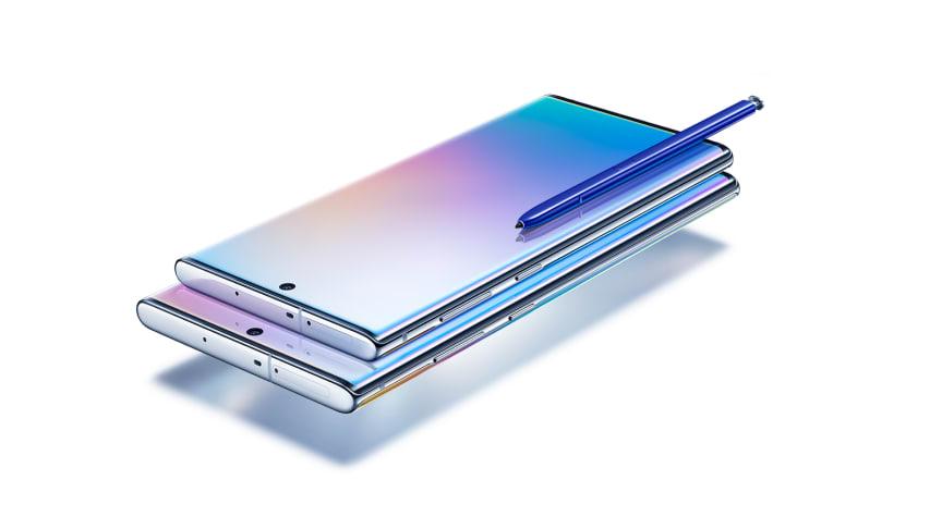 Samsung presenterar Galaxy Note10 och Note10+ – maxad prestanda och kreativitet i två storlekar