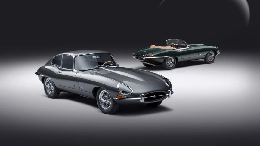 Jaguar E-type 60 Collection feirer lanseringen i mars 1961  med eksklusive Limited Edition-spesifikasjoner