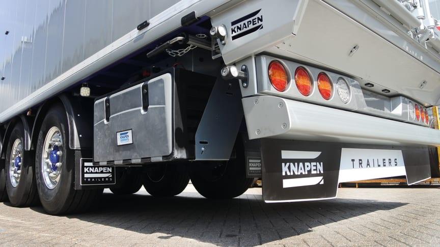 Knapen Trailers setzt in seinen Schubbodenaufliegern die neue verstärkte BPW Luftfederung ECO Air Compact HD ein.