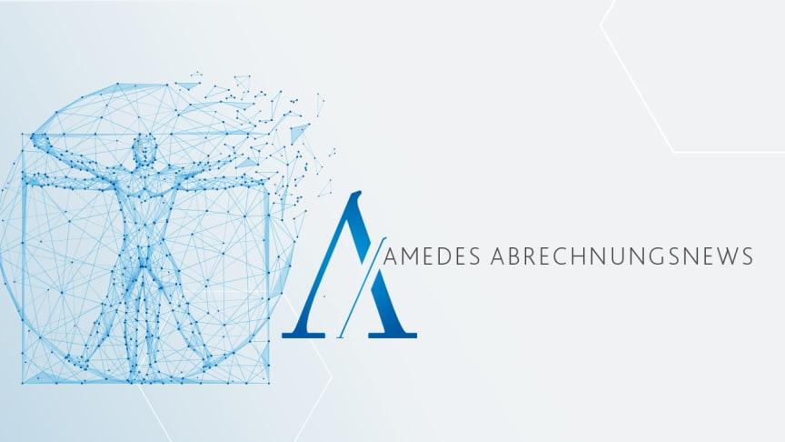 Der neue amedes-Abrechnungsnewsletter ist da