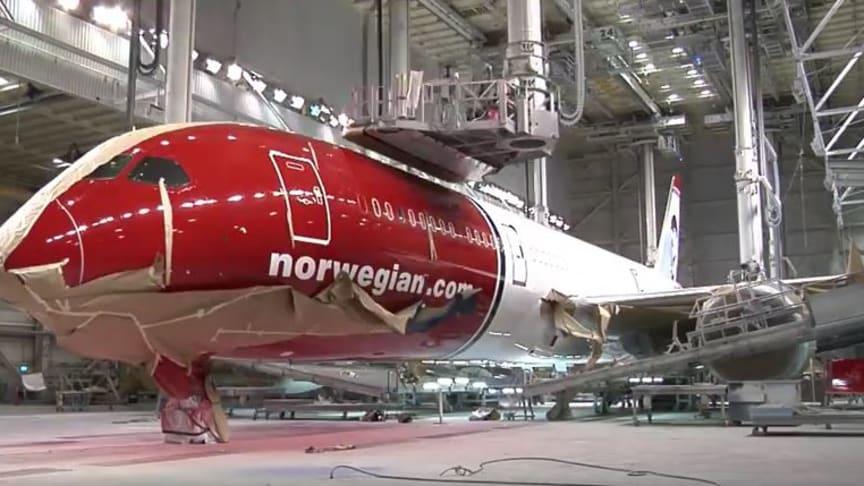 ¿De qué materiales se compone un Dreamliner?