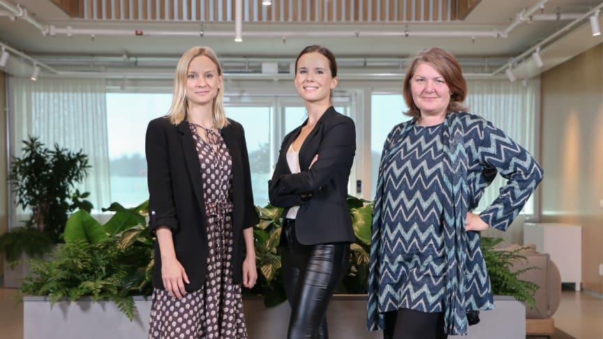 SGDS Gruppen presenterar Karin, Josephine och Malin – tre betydande kvinnor i vår ledningsgrupp