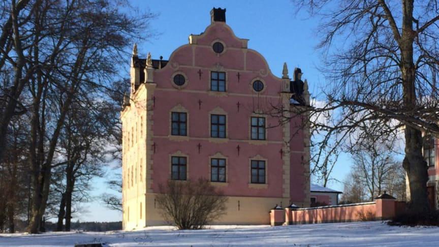 Julmarknad på Skånelaholms slott söndagen den 15 december 2019.