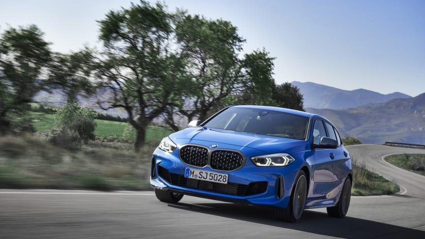 BMW:n 1-sarja uudistuu täysin