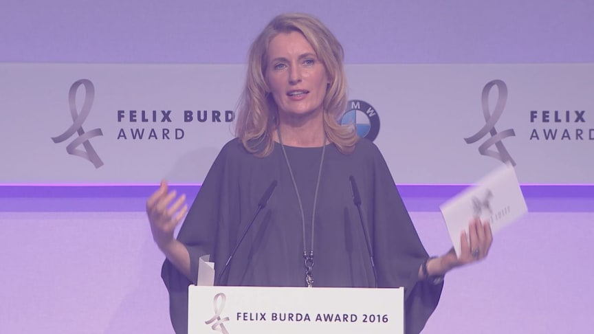 EPK vom Felix Burda Award am 17.4.2016