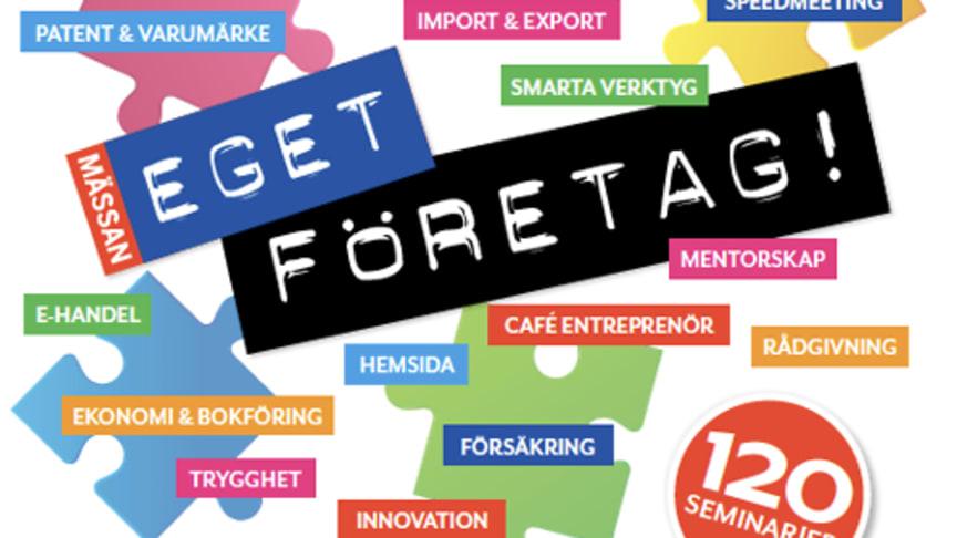Visma tipsar om företagande på Eget Företag-mässan