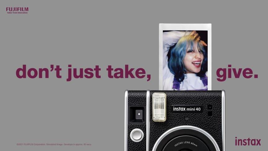 "Fujifilm lanserer det ""tidløse"" instax mini 40"