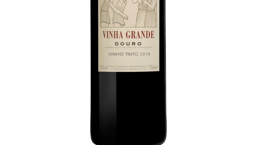 Kvalitetsrödvin från Douro - Vinha Grande 2018 - lanseras i Systembolagets fasta sortiment