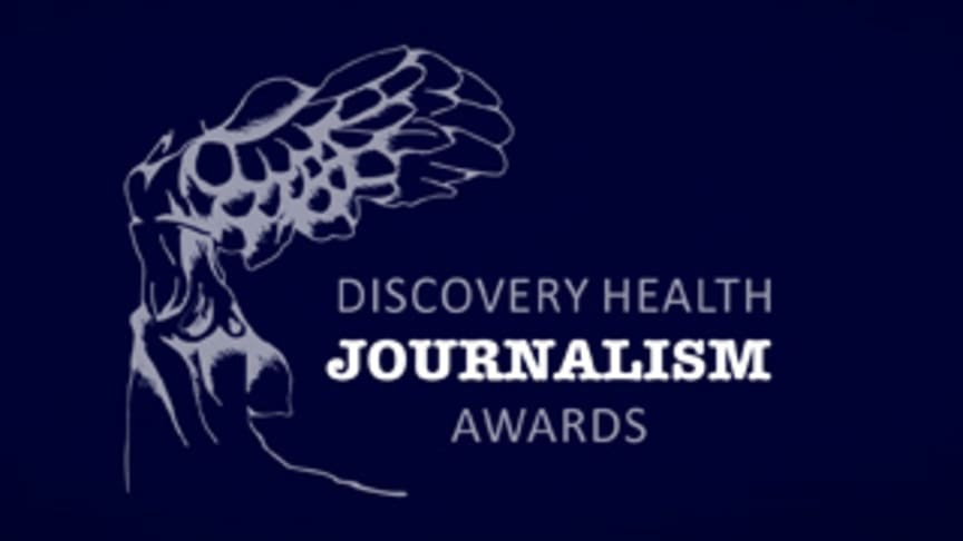 Discovery Health Journalism Awards introduces a brand new award!