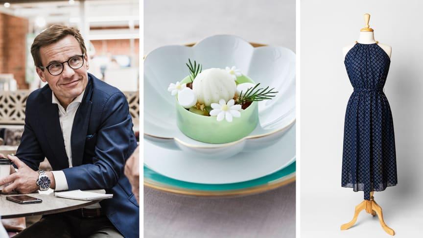 Sugen på lunch med Ulf Kristersson, en Nobelmiddag eller Nyamo Sabunis klänning? Foto: Charlotta Andersson & Dan Lepp