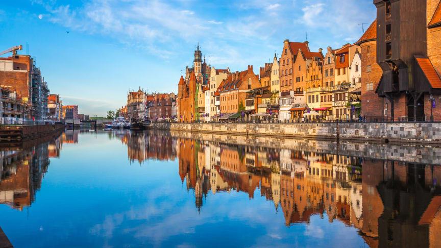 Sommaren 2021 kryssar Viking Line för första gången till Gdansk i Polen.