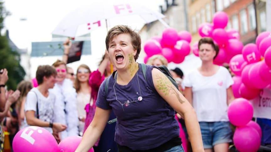 Feministiskt initiativ på Stockholm Pride