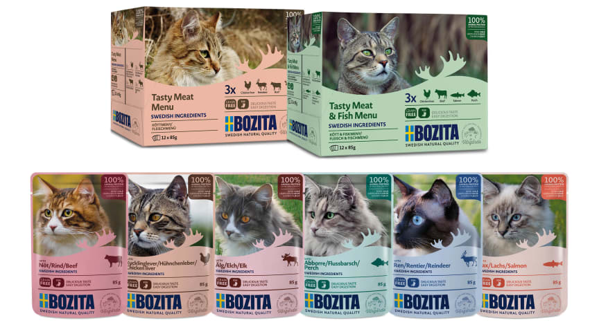 Bozita lanserar nyhet för fyrbenta finsmakare