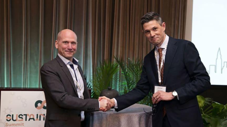 Micvac wins the 2018 SACCNY-Deloitte Green Award