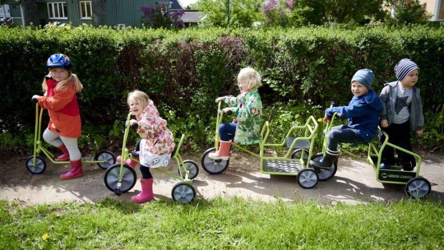 Verdens første svanemærkede cykler