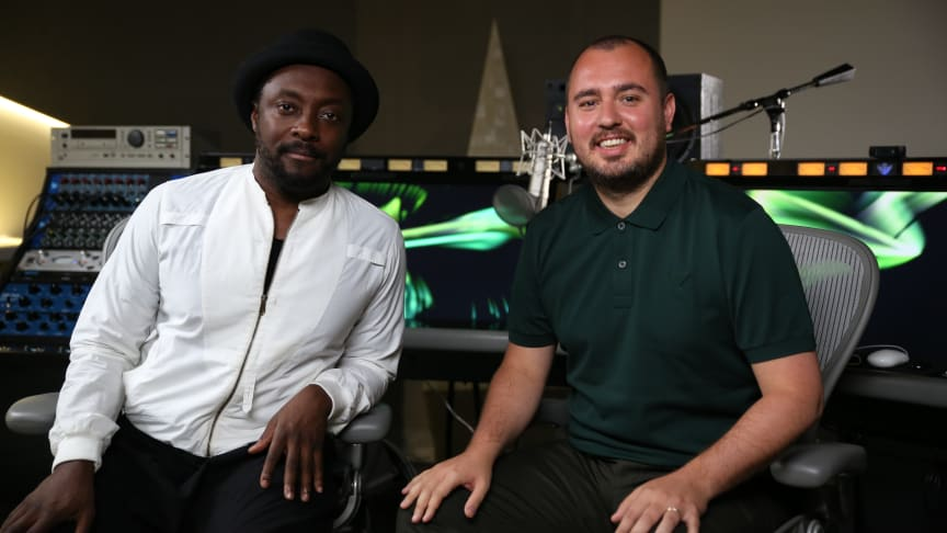 will.i.am joins as co-founder of Swedish disruptive tech startup Amuse – the world's first mobile record company