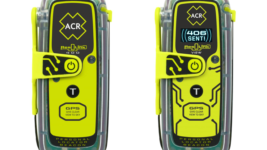 ACR Electronics ResQLink 400 and ResQLink View Personal Locator Beacon (PLB)