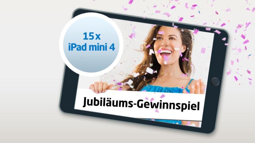 15 Jahre united-domains / Jubiläums-Gewinnspiel