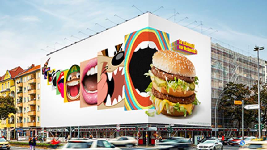 Big Mac als popkulturelle Ikone: McDonald's Deutschland feiert seinen berühmtesten Burger mit einer breit angelegten Kampagne