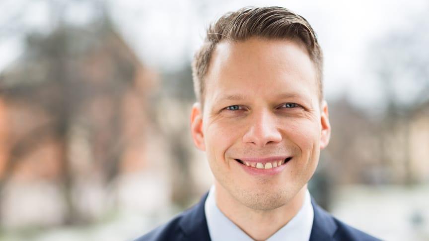 Tomi Pesonen, partneransvarig på Unifaun.