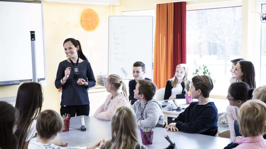 Lärare i klassrum