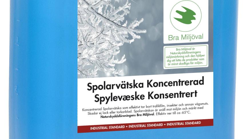 AdProLine® Spolarvätska, märkt enligt Naturskyddsföreningens märkning, Bra Miljöval!