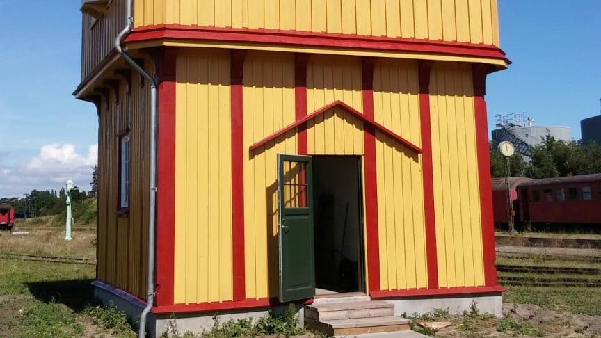 """""""Det Gule Palæ"""" bliver indviet den 9. september 2017 i Gedser"""