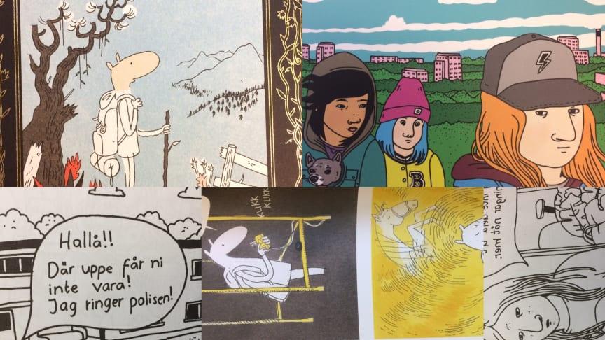 Böcker för unga - i gränslandet mellan ny och gammal berättarteknik