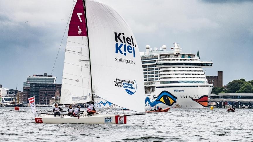 Spitzensport im Herzen der Stadt _ Premiere der Sailing Champions League mit den besten europäischen Teams