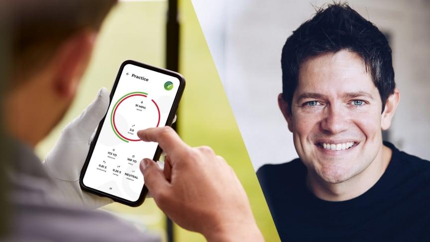 Per Mosseby kliver in som delägare och ordförande i startupbolaget WatchitGolf. Fotograf: Jesper Wahlström