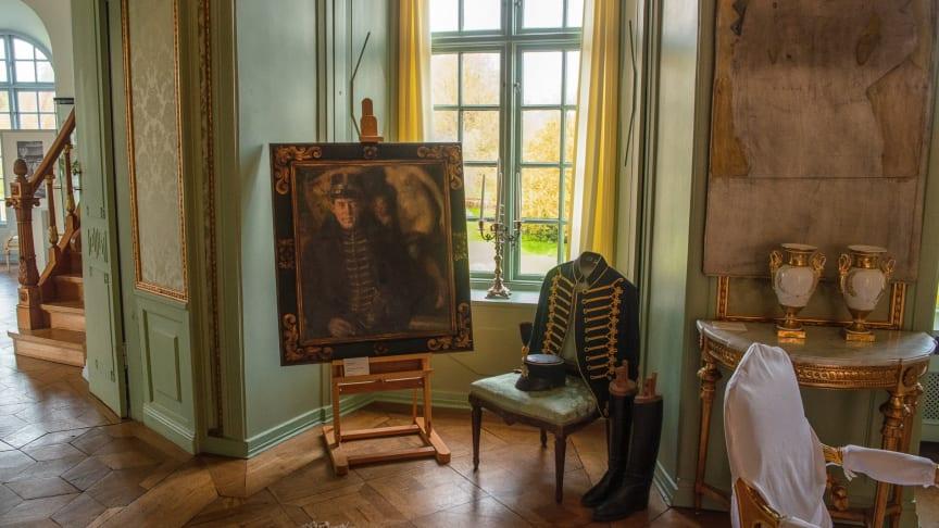 Utställning Konst från tre sekler på Torups slott. Foto Lars Bendroth
