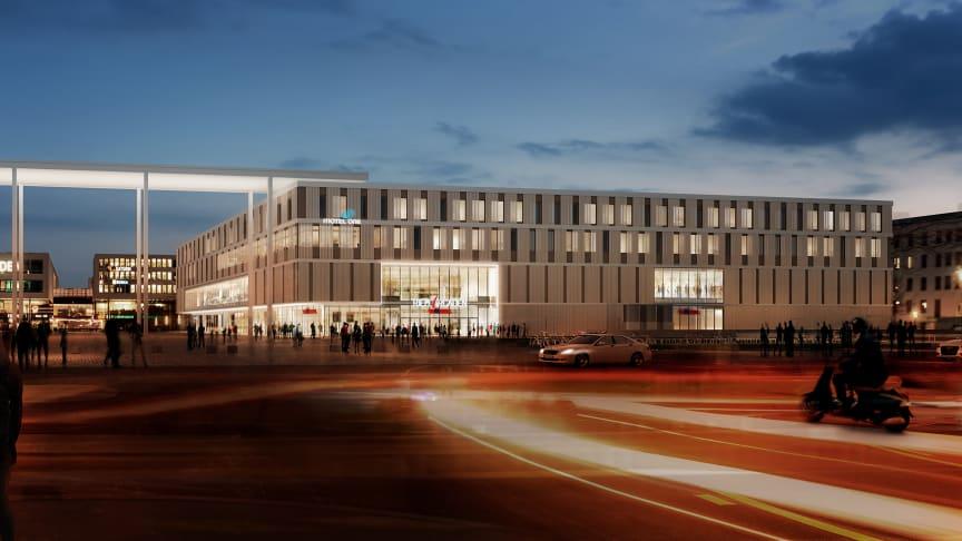 Schon die bestehenden Riem Arcaden wurden 2004 von ZÜBLIN errichtet, am 26.3.2018 wird auch die Erweiterung des Shopping Centers eröffnet (©vizoom für Allmann Sattler Wappner Architekten)