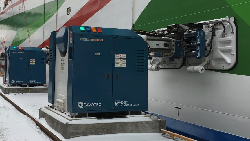 MoorMaster™ units are used at a growing number of ferry applications.