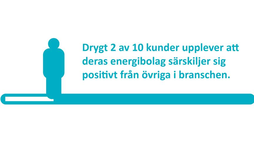 Svenskt Kvalitetsindex senaste undersökning om energibranschen visar att bolag med tydliga varumärken och hög kännedom också har de nöjdaste kunderna.