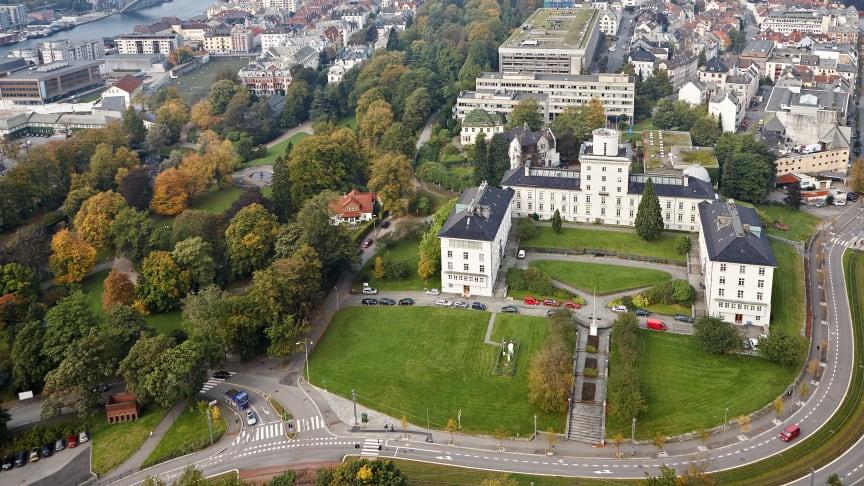 Geofysisk institutt ved Universitetet i Bergen. Foto: Alf Edgar Andresen