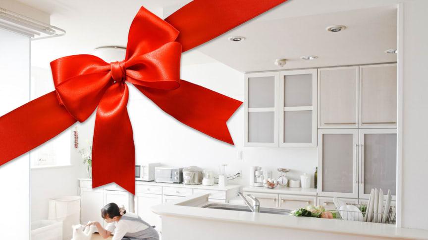 Presentkort hemstädning - ge bort ett rent hem!