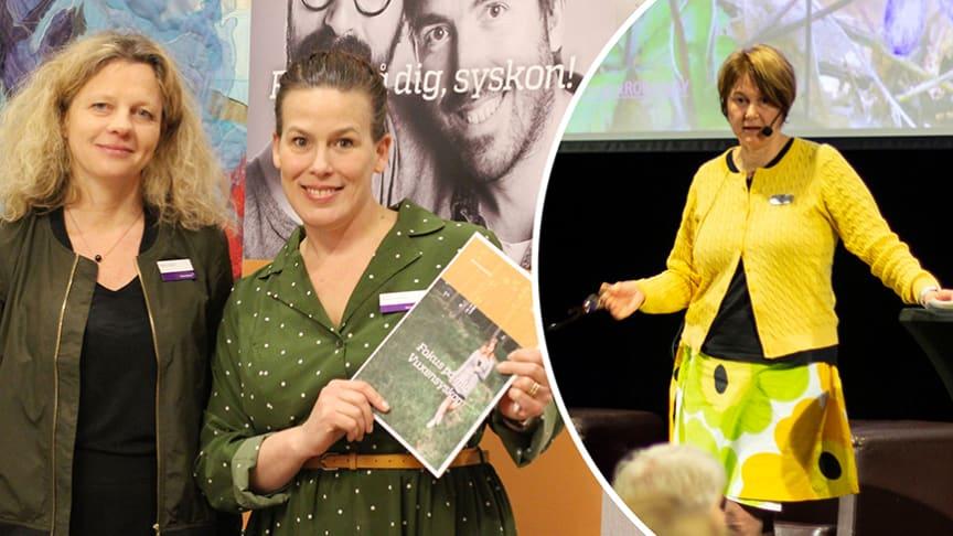 Maria Blad, Rakel Lornér och Monica Albinsson föreläste under anhörigdagen.