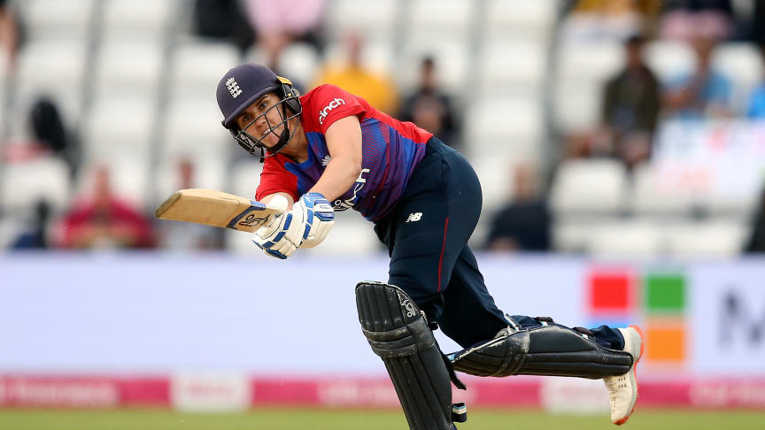 Nat Sciver was awarded Player of the Match.