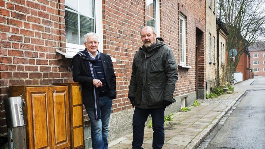 Jan Svärd ordförande i Fastighetsägare BID Sofileund och Möllevången samtHjalmar Falck, verksamhetschef driver frågan kring certifiering av fastighetsägare. En debatt som kan följas på BID Malmös hemsida.