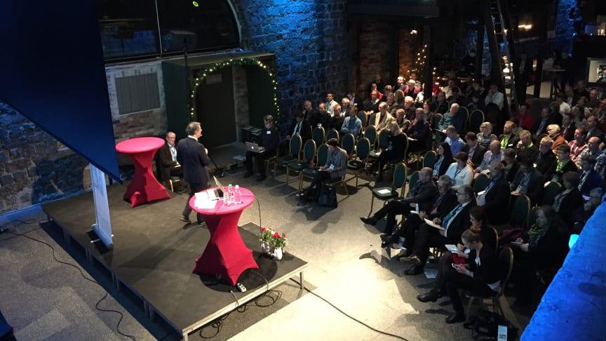 Avestasamtalen som fokuserar på basindustrins framtid, arrangeras i den gamla basindustribyggnaden Verket i Avesta.
