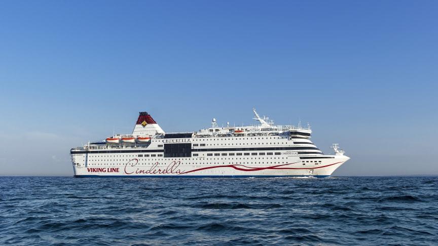 Viking Line ställer in samtliga kryssningar med Viking Cinderella