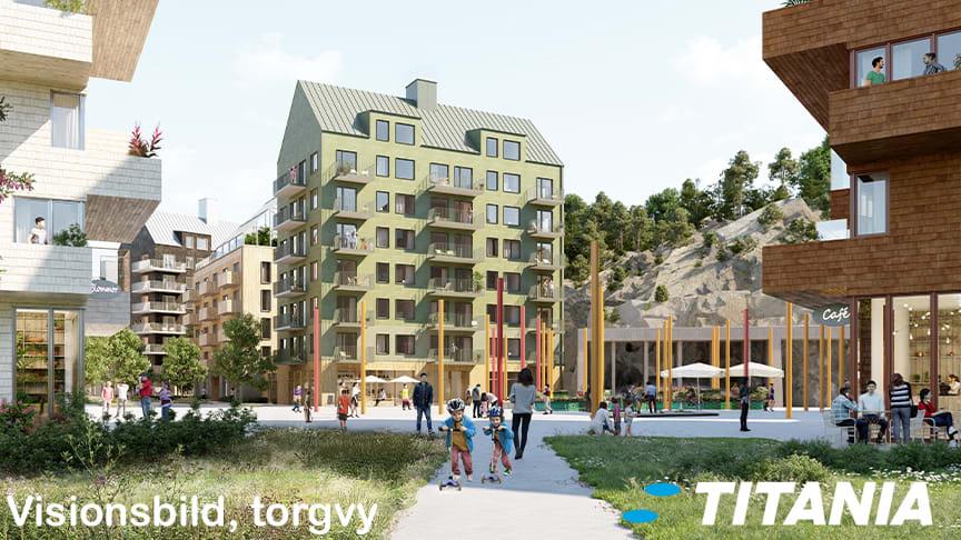 Titania och Huge Bostäder utvecklar 500 bostäder vid Masmo tunnelbanestation
