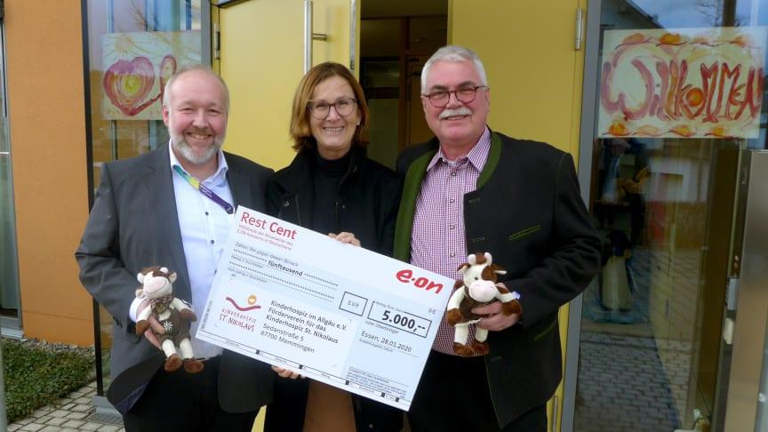 E.ON-Mitarbeiter unterstützen Kinderhospiz St. Nikolaus in Bad Grönenbach