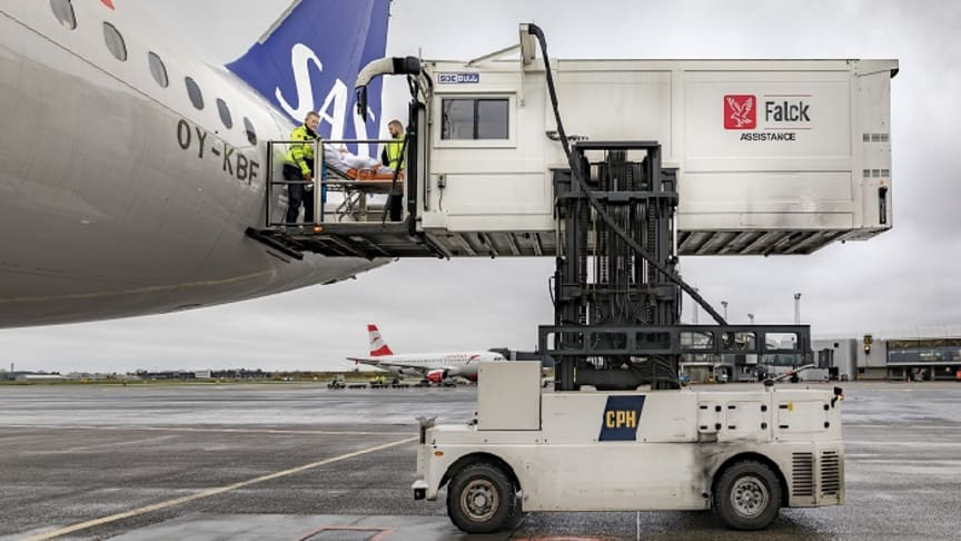 Copenhagen Airport chooses Falck to assist passengers with reduced mobility