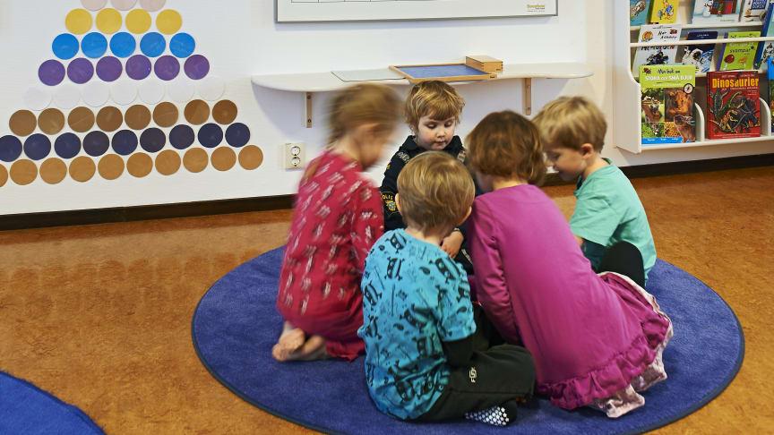 Från oljud till god pedagogik på Montessoriförskolan Pärlan II
