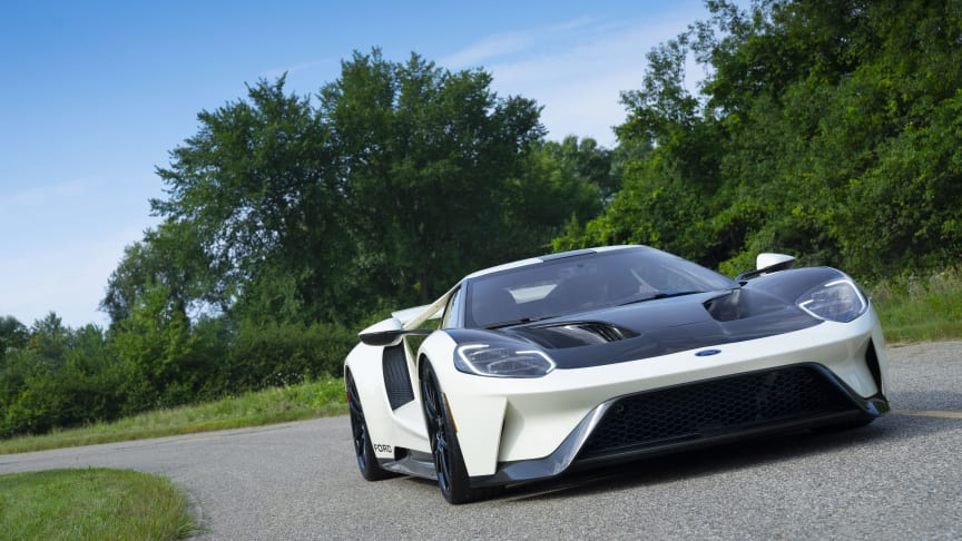 Den nye Ford GT '64 Prototype Heritage Edition.