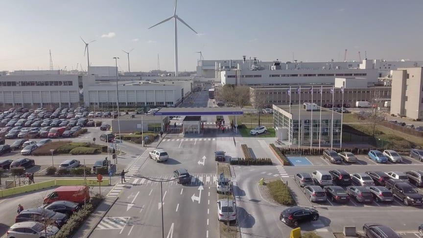 Volvo skal producere Lynk & Co modeller på fabrikken i Gent