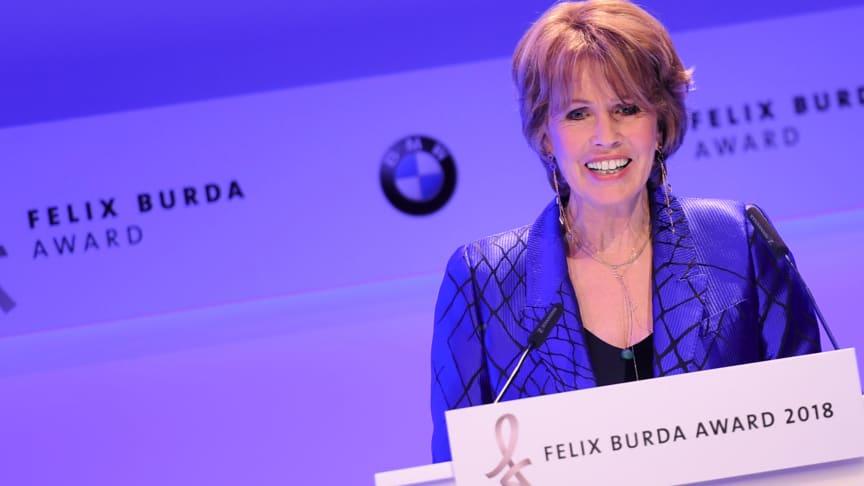 Christa Maar, Vorstand der Felix Burda Stiftung und Gastgeberin des Felix Burda Award