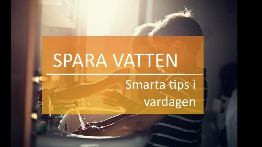 Smarta tips på att spara vatten i vardagen