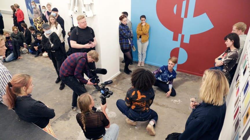 Fra Open Studio, 2020. Fotograf: Henrik Groth